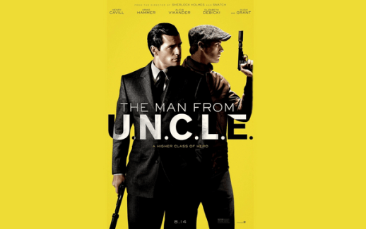 Promo poster for The Man From U.N.C.L.E.
