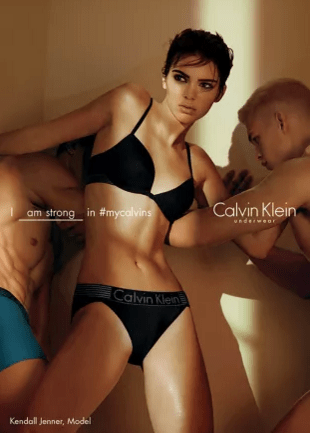 If Kendall Jenner Is So Strong In Her Calvins, Why Does This Ad Make Her Look Like She's Getting Gang Raped?