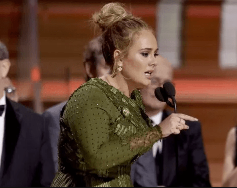 Weirdly, Adele Was the Person Who Most Filled the Kanye West Void for Antics at the Grammys