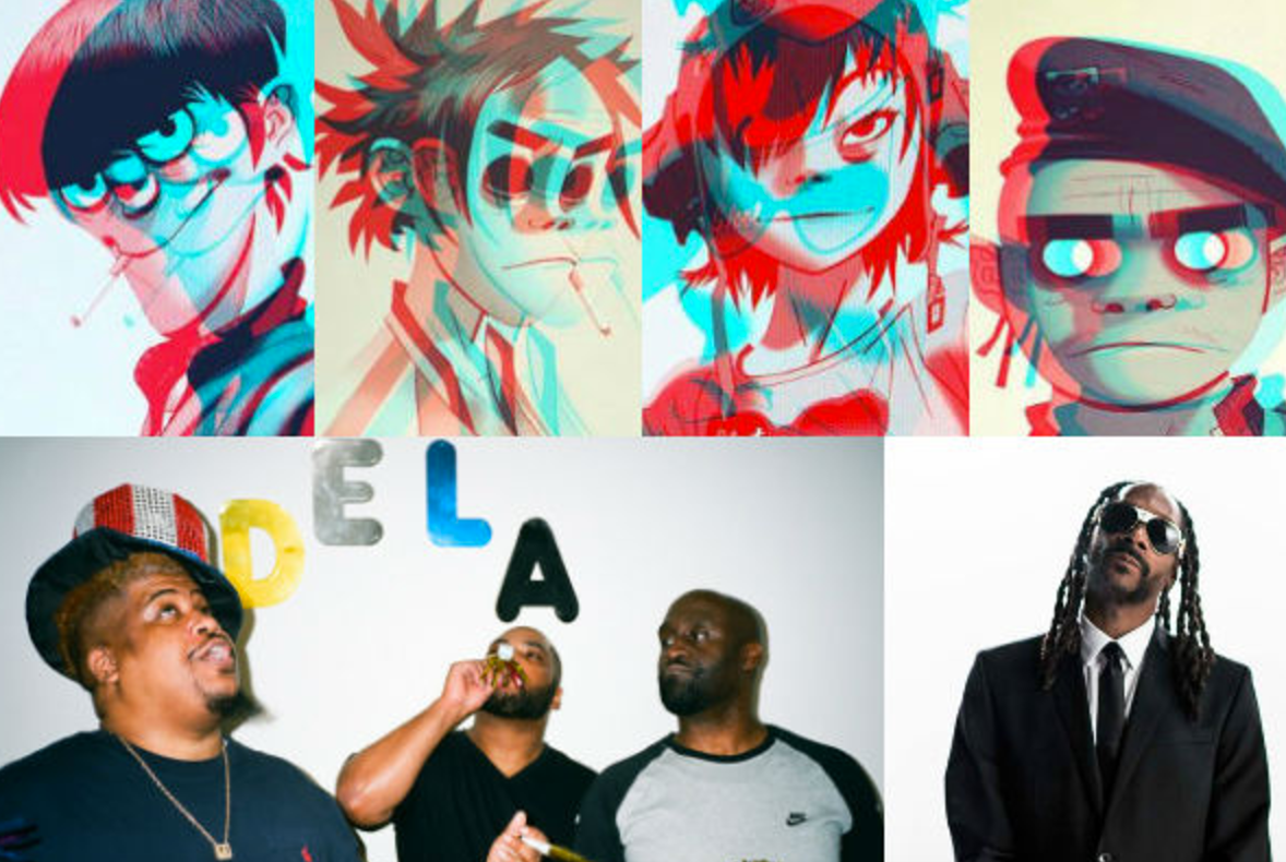 Humanz Solidifies Gorillaz's Superhuman Knack for Collaboration