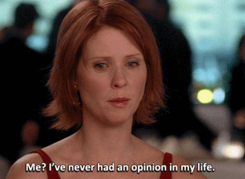 The Foreshadowing of Cynthia Nixon Running For New York Governor Via The Shady Comment Made About Former Mayor Giuliani As Miranda Hobbes