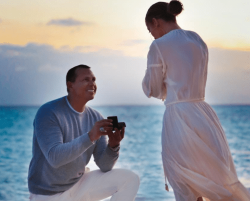 The Creepiness of Having an On Location Photographer to Document the Reaction to Your Proposal