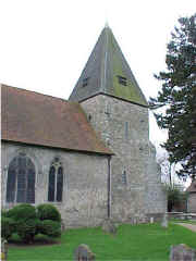 Hunton Church. March 2000