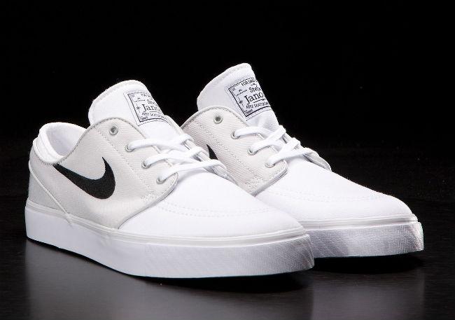 Nike SB Stefan Janoski Canvas Light Base Grey