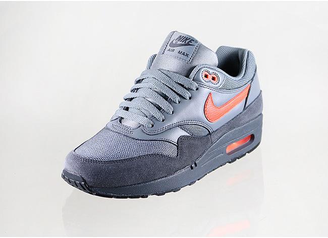 Nike Air Max 1 FB Anthracite / Team Orange
