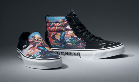 Iron Maiden x Vans