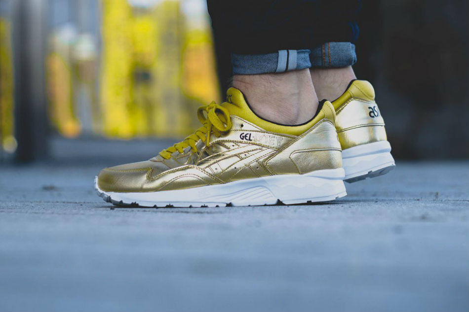 asics gel lyte v gold