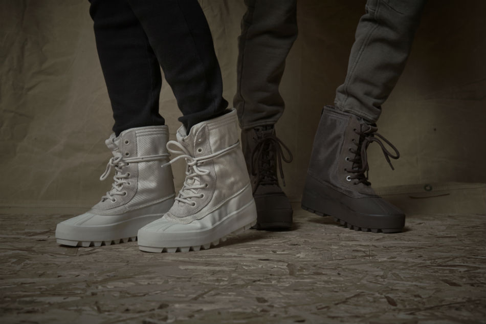 yeezy 950m boot on feet