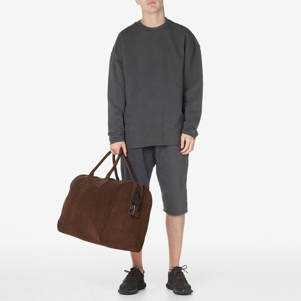 yeezy season1 crew sweat caviar