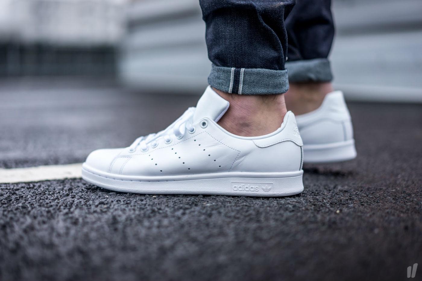 adidas Originals Stan Smith All White | Cult Edge