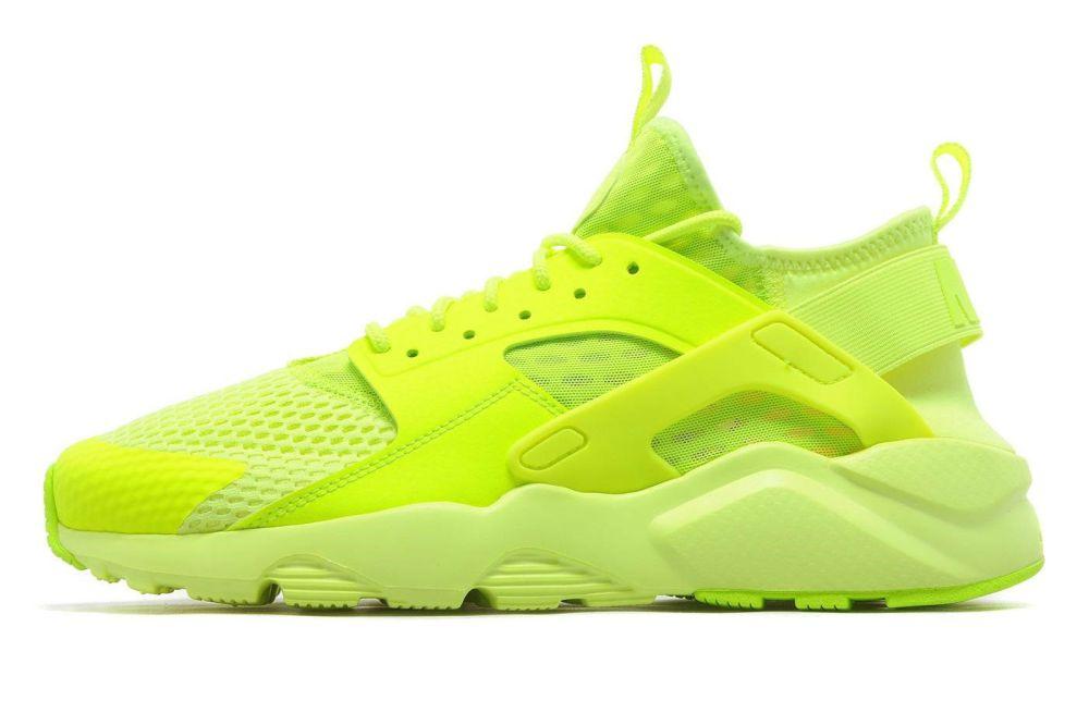 nike huarache run ultra yellow volt