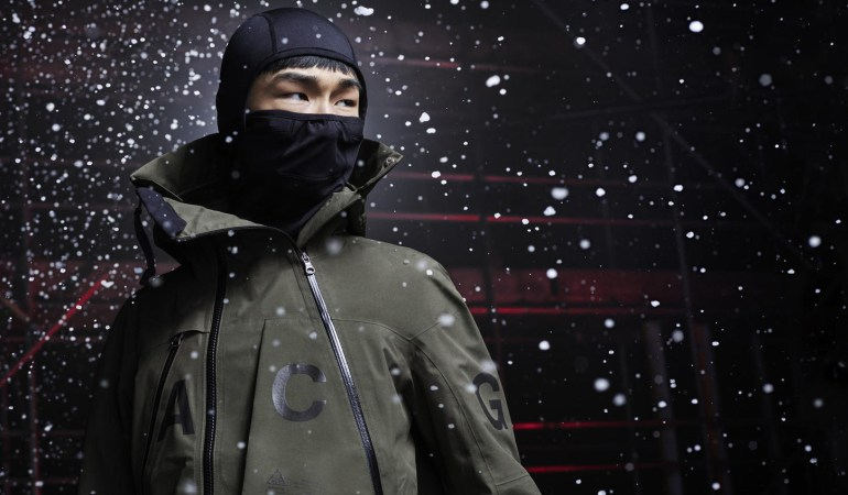 NikeLAB ACG Winter Collection: Sport Tech, Street Style