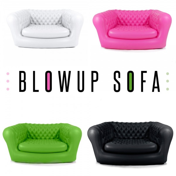 Inflatable Pink Chesterfield Air Sofa Modern Sofas Cult UK
