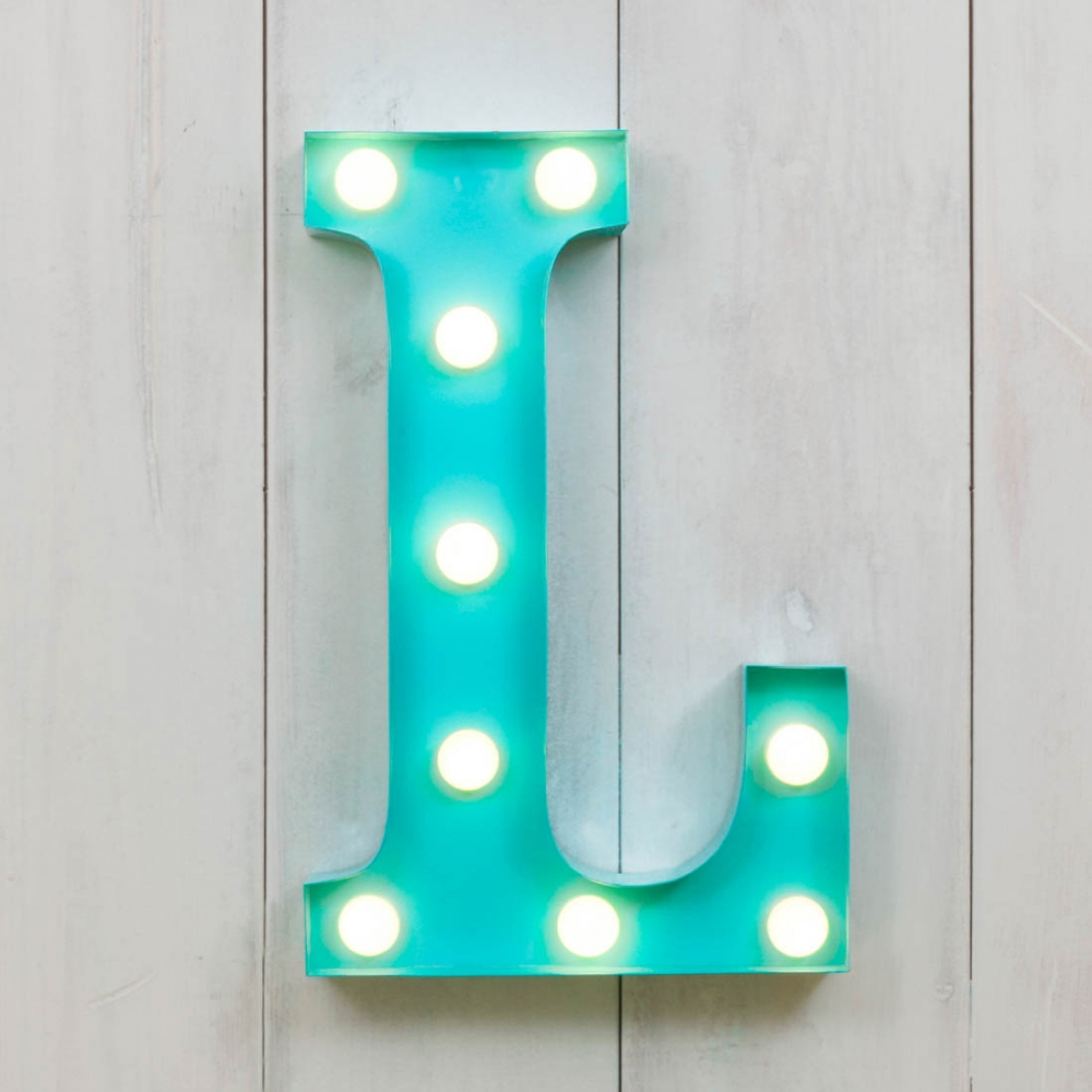 Metal Letters Home Decor