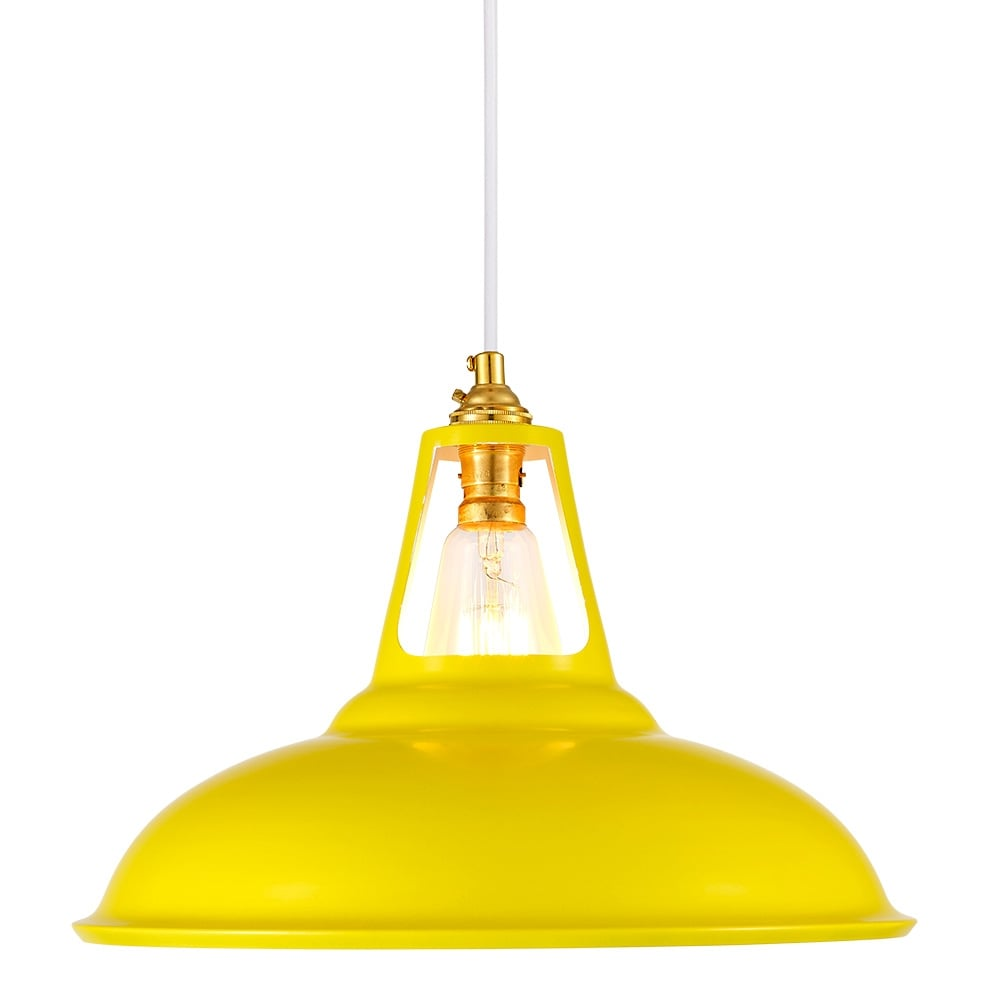 Yellow Pendant Lighting