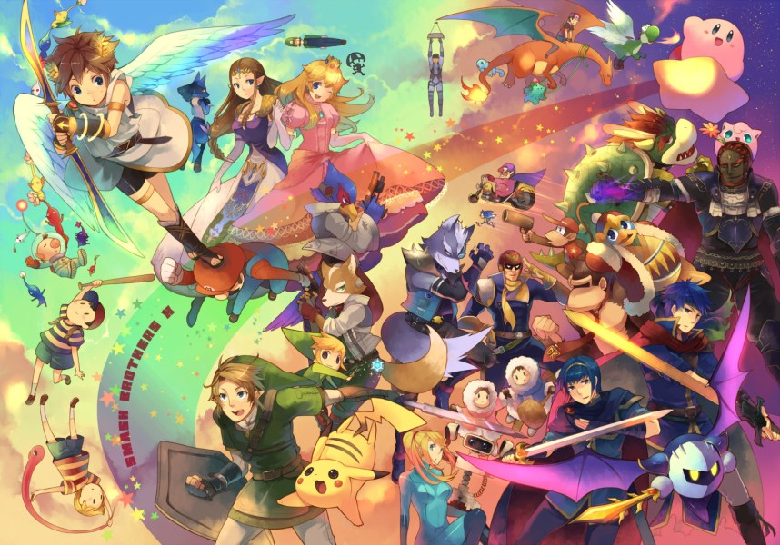 Video Games as Art   Cultivating Culture Nintendo video game characters look more like art than they used to