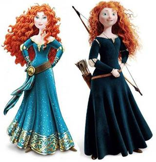 "Disney gave Merida a ""makeover"" that she didn't need, unnecessarily sexualizing the character."