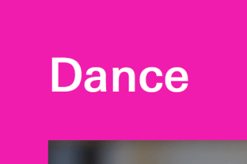 Lincoln Center dance