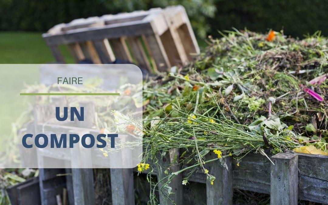 Faire un compost organique