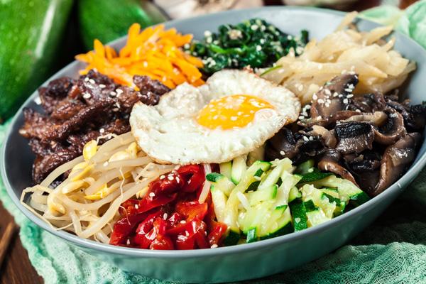 recette bibimpap coréen