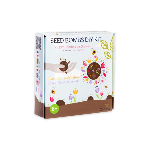 kit bombes de graines DIY