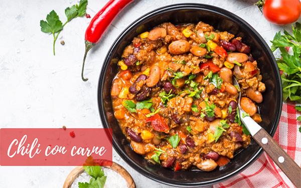 chili con carne la recette