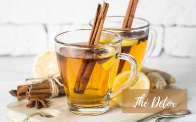 Recette de thé détox