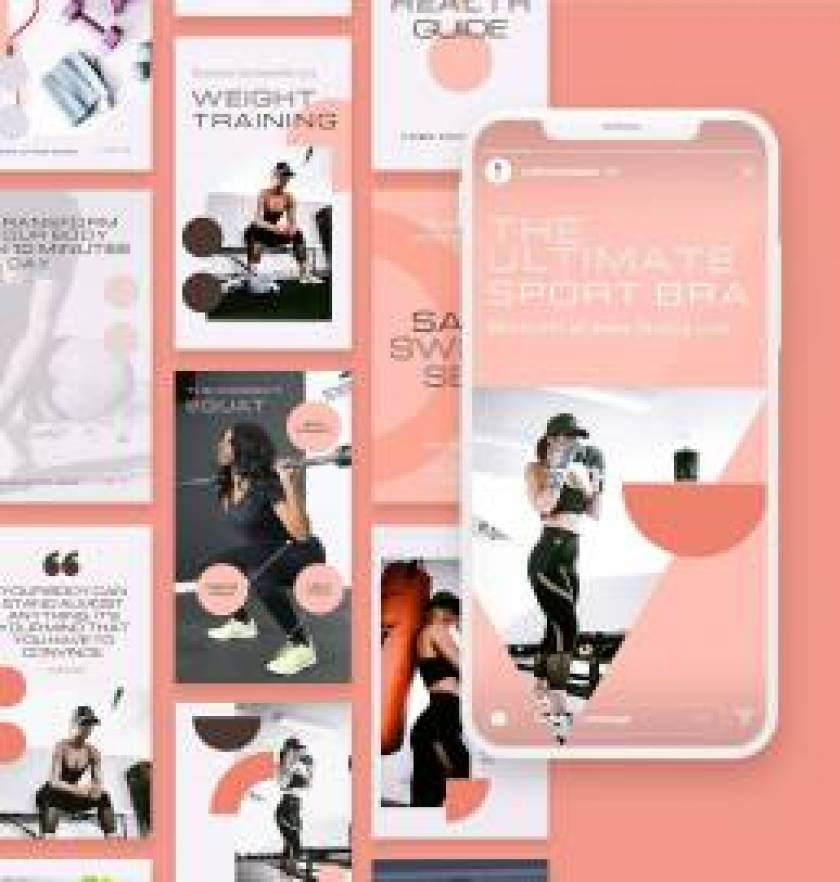 Fitness Story Templates