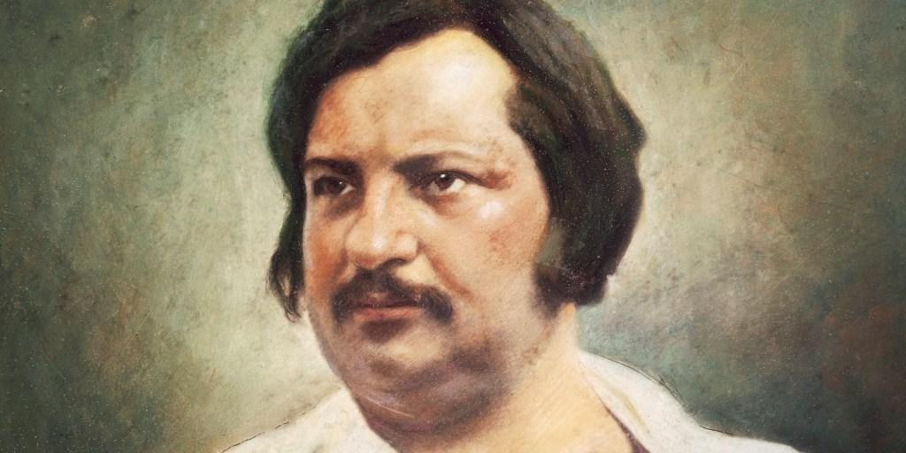 Ritratto di Honoré de Balzac (Tours, 20 maggio 1799 – Parigi, 18 agosto 1850). Tratto da un dagherrotipo del 1842. Photo by DeAgostini/Getty Images.