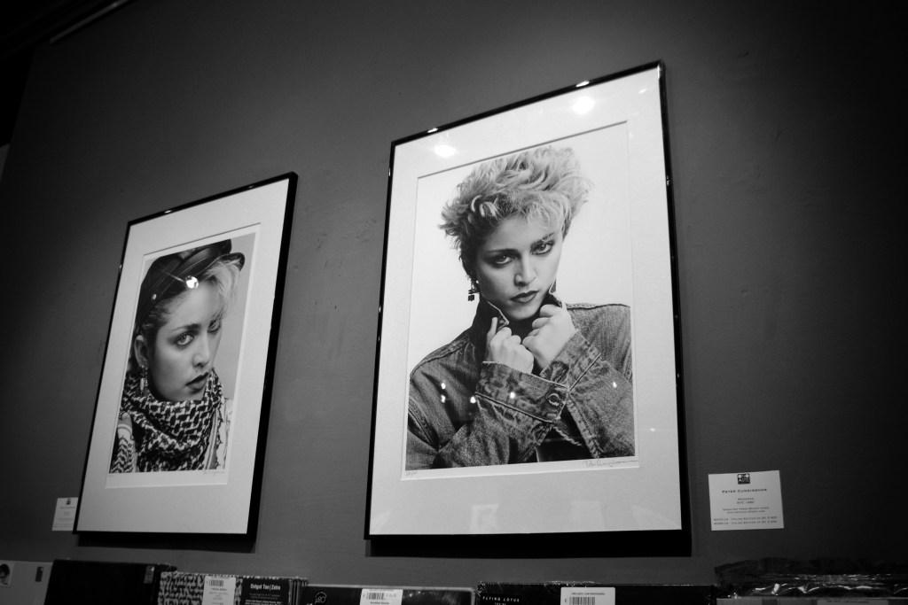 MADONNA: The Rise of a Star, Ono Arte Contemporanea, 2015. © Claudia Stritof. Tutti i diritti riservati.