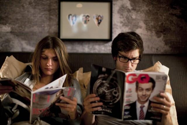 """Love lasts three years"": a soft satire of modern love"
