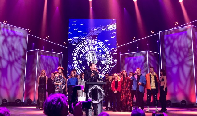 Throwback to the European Border Breakers Awards (EBBA) Ceremony