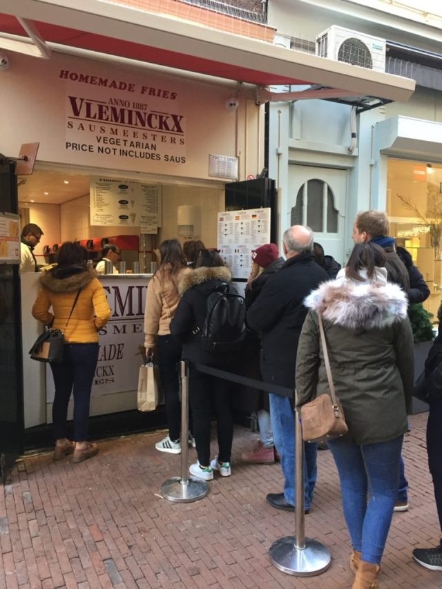 Vleminckx, Fries, Amsterdam, Chips