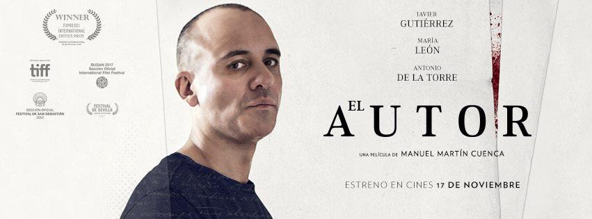 Resultado de imagen de el autor pelicula Manuel Martín Cuenca