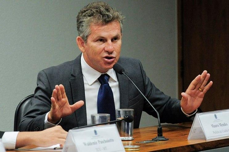 Geraldo Magela/Agência Senado Mauro Mendes Ferreira é o atual governador do Mato Grosso