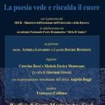 """Roma by night:""""La poesia vede e riscalda il cuore"""""""