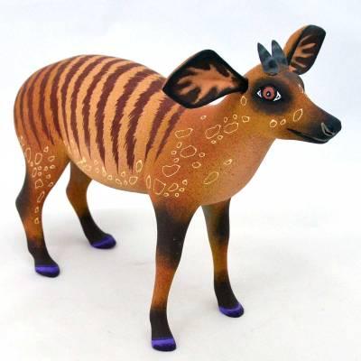 Eleazar Morales Eleazar Morales: Banded Zebra Duiker (Antelope) African Animals