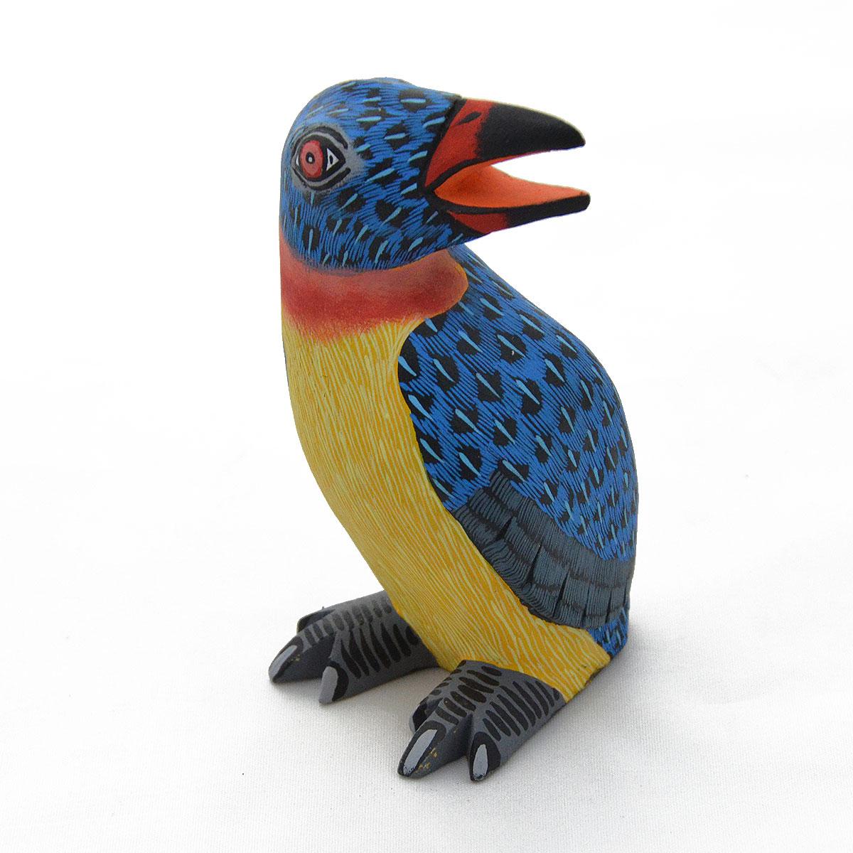 Eleazar Morales Eleazar Morales: Mini Penguin Blue Birds