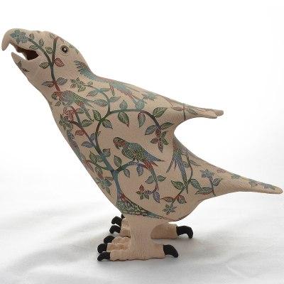Nicolas Ortiz Jr. Nicolas Ortiz Jr.: Sgraffito Macaw Effigy Birds