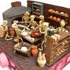 Mechanical Folk Art Santa Fe Show – Josue Eleazar Castro: Large Scale Bakery cartoneria