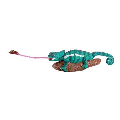 Eleazar Morales Eleazar Morales: Hungry Chameleon on Branch Catching Bug Chameleon
