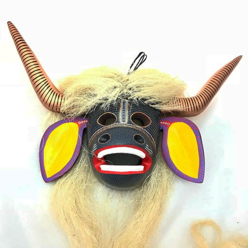 Abad Xuana Abad Xuana: Large Cow Mask cows