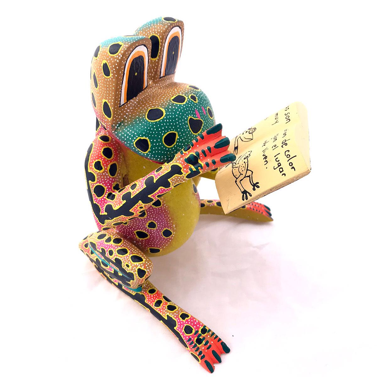 David Blas David Blas: Literary Frog Frog
