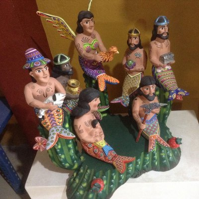 Agustín Cruz Tinoco Agustín Cruz Tinoco: Premier Mermaid Nativity – Available Direct From Oaxaca [tag]
