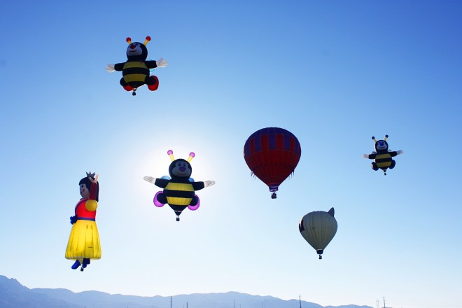 Fun Hot Air Balloons