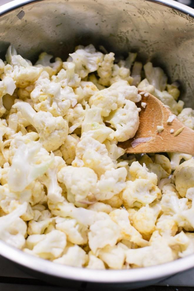 Garlic Roasted Cauliflower   Cultural Chromatics-1