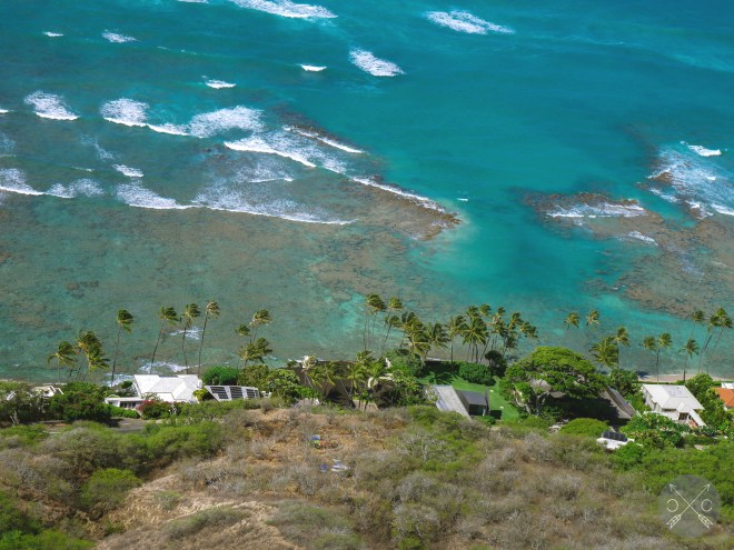 View from Diamond Head Trail