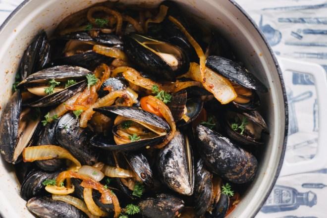 Tomato Chorizo Mussels | Cultural Chromatics-3