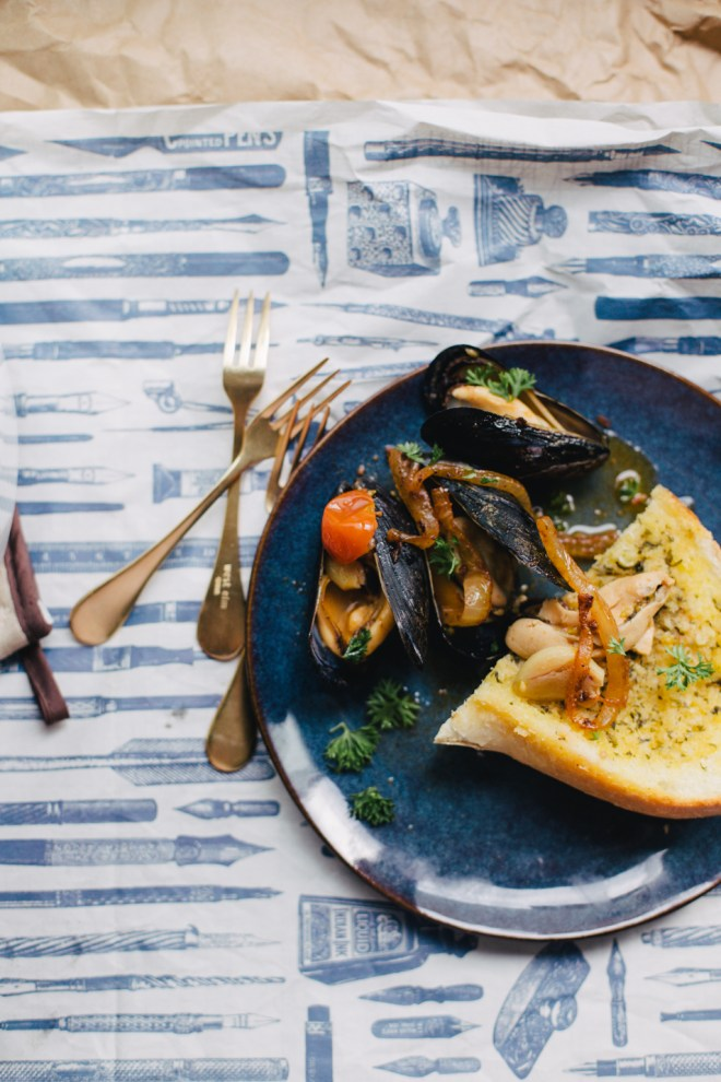 Tomato Chorizo Mussels | Cultural Chromatics-5