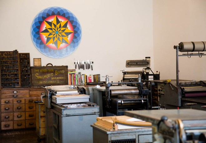 The Arm Letterpress in Brooklyn